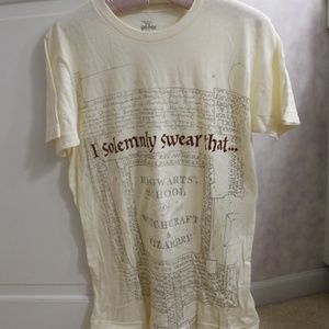 Harry Potter Hogwarts I Solemnly Swear T-shirt - M